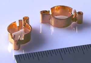 医疗器械用端子,铍铜材料,镀金40迈以上